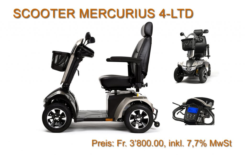 Februar Aktion: MERCURIUS 4-LTD – Scooter