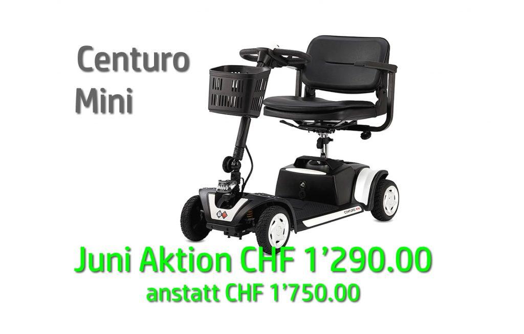 Juni Aktion – CENTURO mini bei Rehab GmbH, Wallisellen